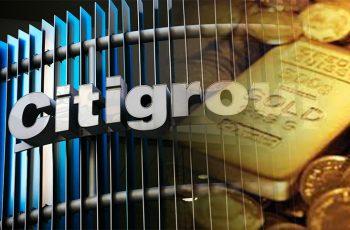 citigroup gold price raises